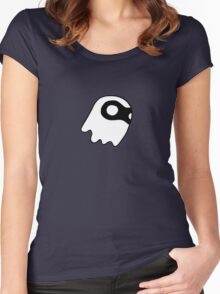 Bandit Ghost - no logo Women's Fitted Scoop T-Shirt