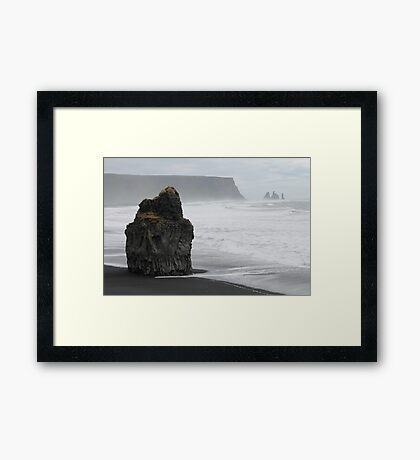 The lonely giant Framed Print