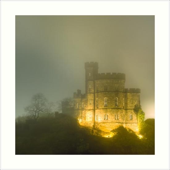 Shrouded - Edinburgh Old Calton Gaol by Mark Tisdale
