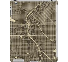DENVER MAP iPad Case/Skin