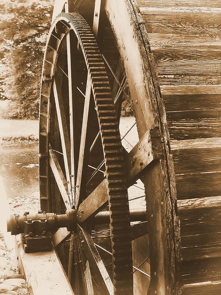 Water Wheel by Erika Benoit