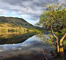 Golden light on Ullswater by Gary Kenyon