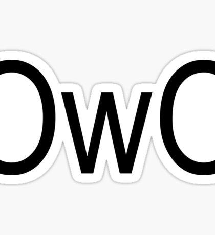 OwO Sticker