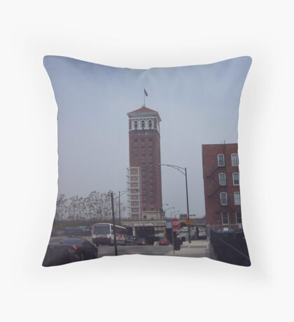 Sunset at the Old Sears Tower Throw Pillow