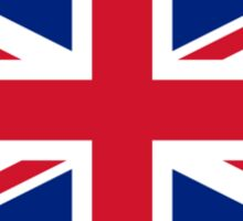 United Kingdom World Cup Flag - Union Jack T-Shirt Sticker