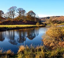 Reflections on the River Brathay by Gary Kenyon