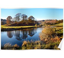 Reflections on the River Brathay Poster