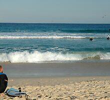 Bondi Beach Sydney by Sharon Hughes