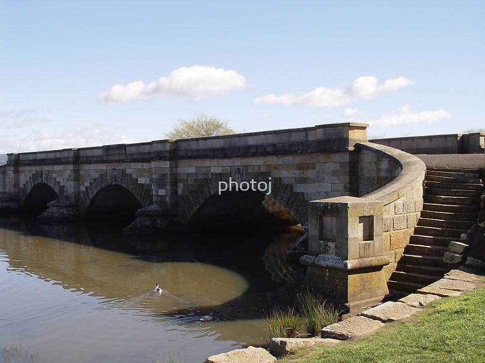 Tasmania Convict Bridge - Ross by photoj
