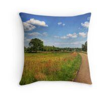 Dutch Countryside Throw Pillow