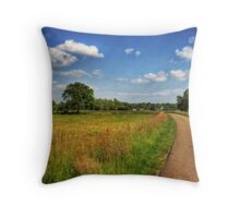 Dutch Countryside Throw Pillow