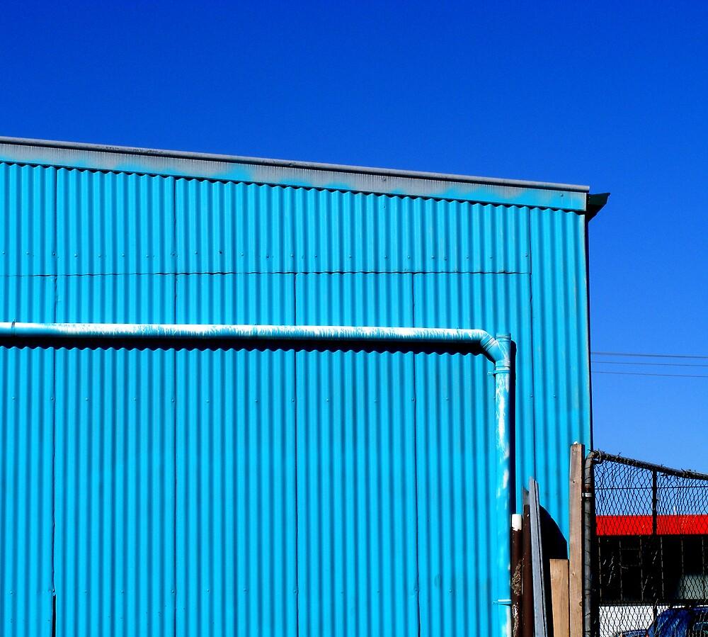 Blue on Blue by Bruce  Watson