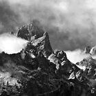 Grand Tetons by Charles Kosina