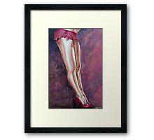 Sassy Pink Framed Print