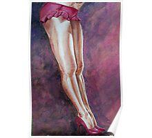Sassy Pink Poster