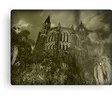 Overlooking Sin Metal Print