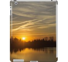 Cool Contrails and Sunshine iPad Case/Skin