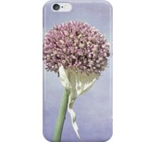 Beauty in the vegie patch iPhone Case/Skin