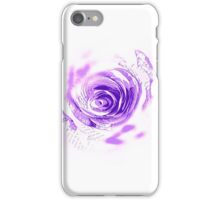 The Softened Paper Trips Rose iPhone Case/Skin