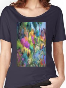 Landscape, nature, colourful, flowers Women's Relaxed Fit T-Shirt