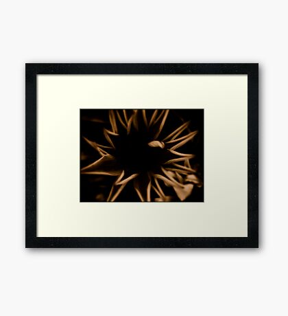 Empty Inside Framed Print