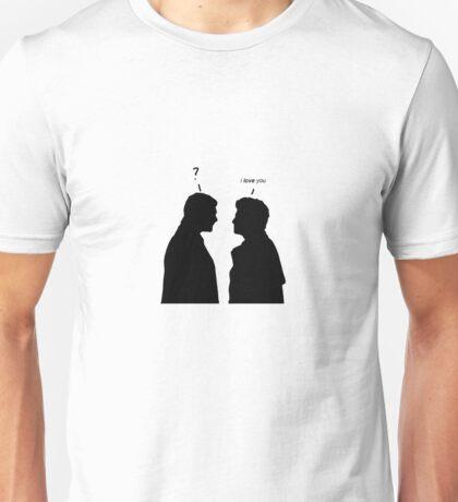 Dean and Castiel - I love you - ? Unisex T-Shirt