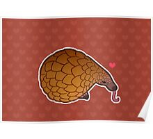 Pangolin Love Poster