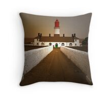 Souter Lighthouse Throw Pillow