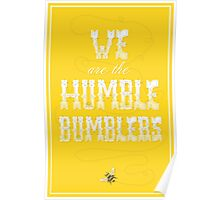 The Humble Bumblers Poster