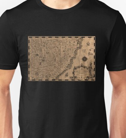 Cpp C++ Map Unisex T-Shirt
