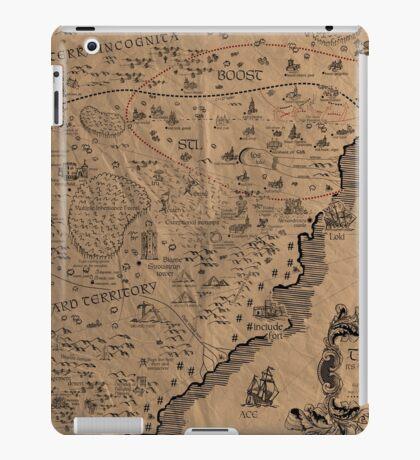 Cpp C++ Map iPad Case/Skin
