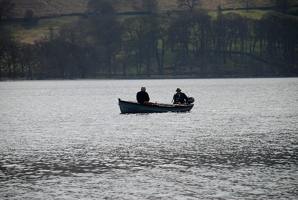 fishing on ullswater by kevman
