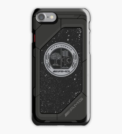 AMG carbon flakes iPhone Case/Skin
