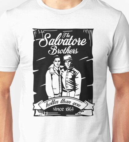 TVD. Damon and Stefan. Unisex T-Shirt