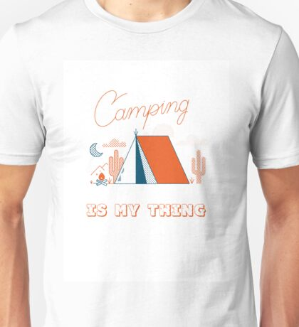 Camping Is My Thing Unisex T-Shirt