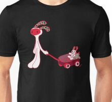 My red wagon (white) Unisex T-Shirt