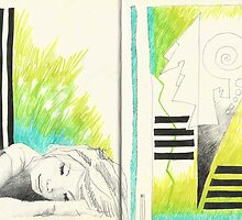 Sketchbook Jak, 14-15 by AnnaAsche