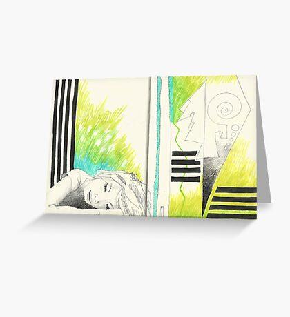 Sketchbook Jak, 14-15 Greeting Card