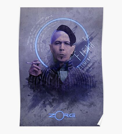 5th Element - Zorg Poster