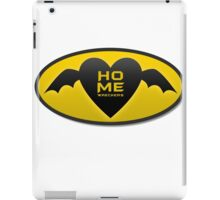 home wreckers batman iPad Case/Skin