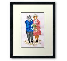 The Guinea Pig Wedding Framed Print
