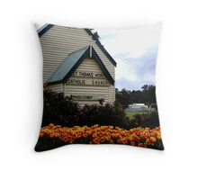 Tulips at Nannup, South Western Australia Throw Pillow