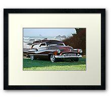 1950 Buick Woody Wagon 2 Framed Print