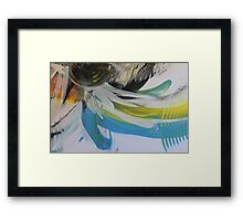 Space and Colour No1 Framed Print