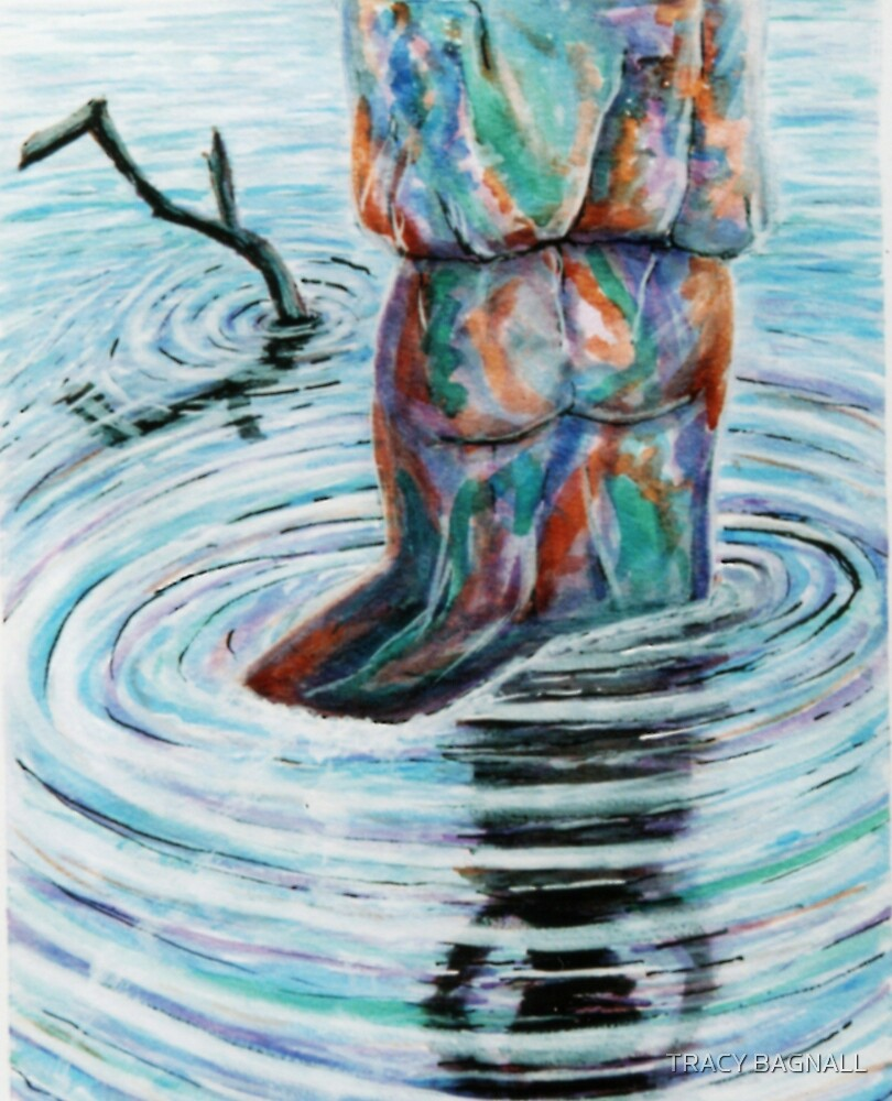 girl in water by TRACY BAGNALL