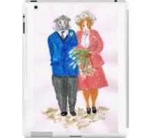 The Guinea Pig Wedding iPad Case/Skin
