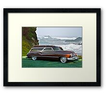 1950 Buick Woody Wagon 5 Framed Print