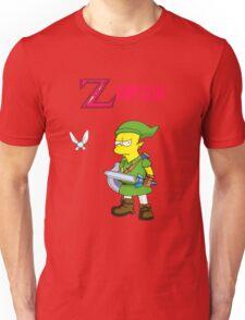 Bart the legend of Zelda Unisex T-Shirt