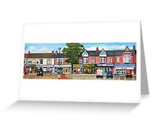 Station Road, Forest Hall. Newcastle upon Tyne Greeting Card