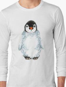 Molly the baby penguin  Long Sleeve T-Shirt